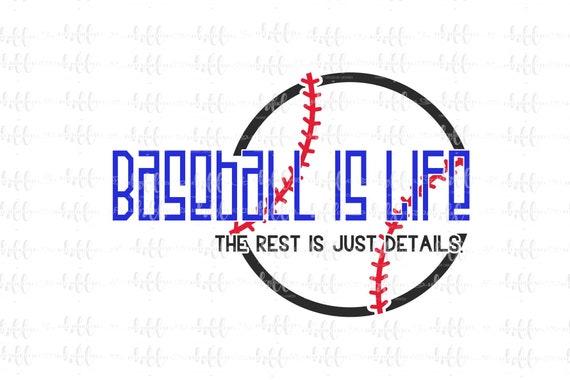 sports png svg baseball tshirt design sublimation designs downloads tshirt png Baseball is life svg cut file png files for sublimation