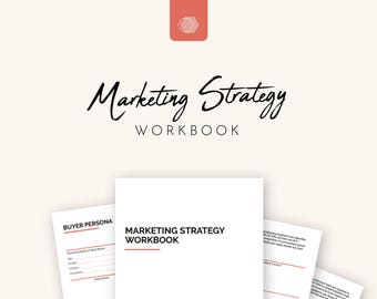 Marketing Strategy, Marketing Planner, Brand Planner for Small Business Owners | Printable - A4