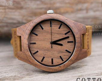 Fathers Day Gifts for Dad, Gifts for Boyfriend, Wood Watch Men, Husband Gift, Wooden Watch Men, Fathers Day, Wood Watch, Engraved Watch