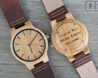 Groom Gift from Bride Grooms Gift for Groom Wood Watch Wedding Day Gifts Wife to Husband Gift Wedding Gift Groom to Be Mens Wooden Watch