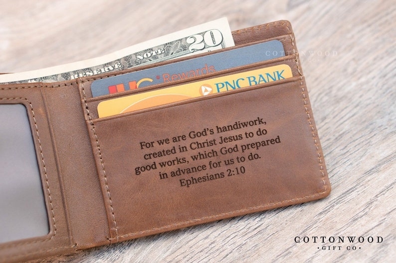 81719fdce185 Father s Day Gifts Husband Gift Personalized Wallet