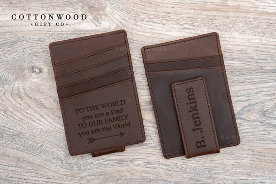 fc120541bf09 Personalized Money Clip Personalized Mens Wallet Wallets for | Etsy
