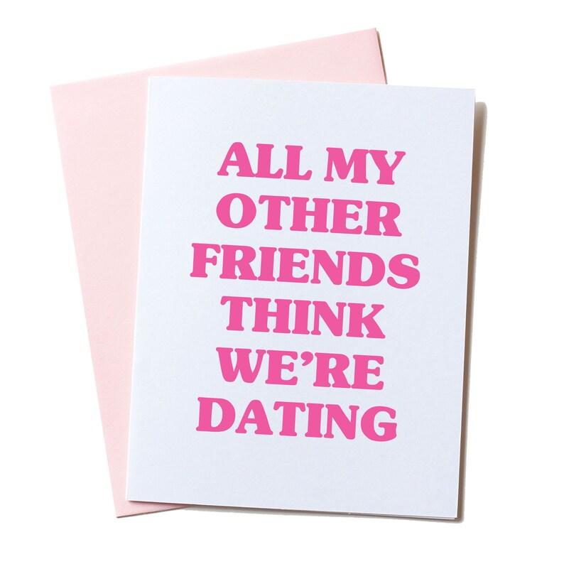 Best Friend Card Funny Birthday Valentines
