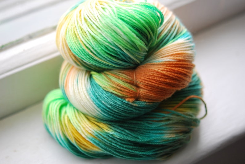 Hand Dyed Yarn  Grandmother's Kitchen image 0