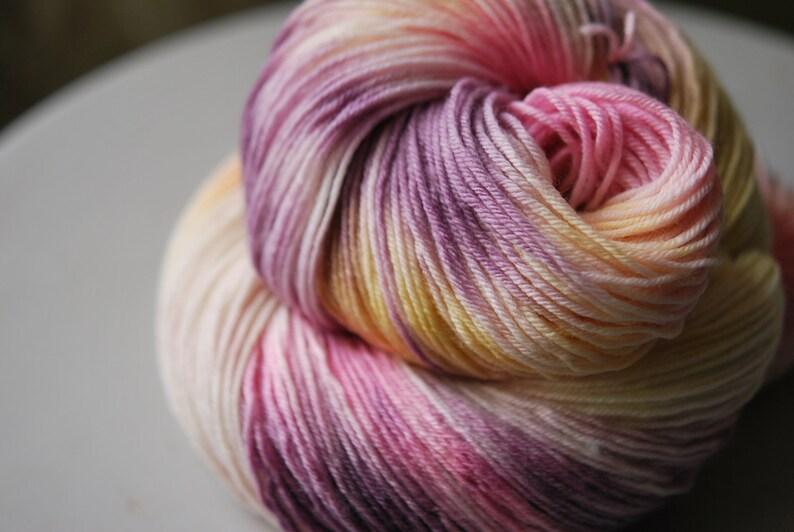 Hand Dyed  Yarn  Ice Cream Treat image 0