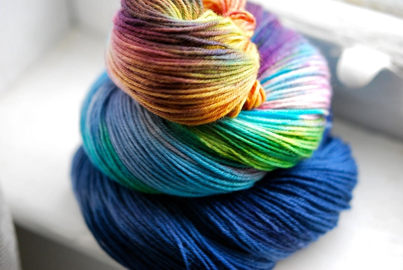 Hand Dyed Yarn  Story Time image 0