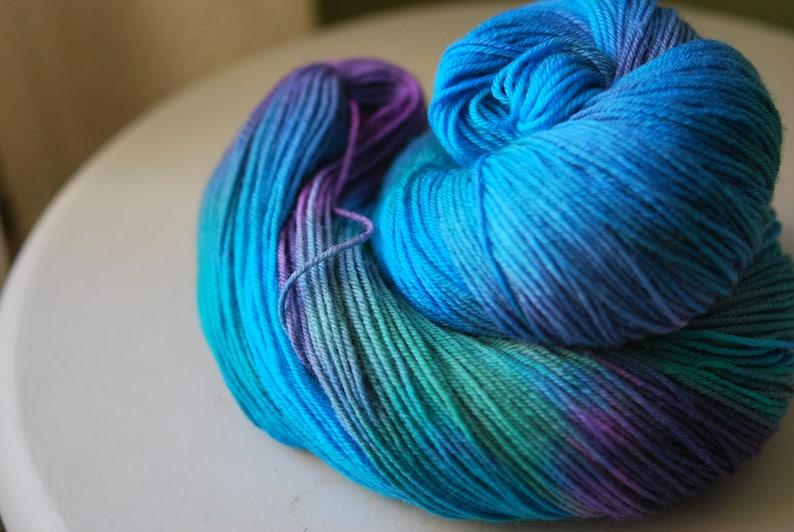 Hand Dyed  Yarn  Splash image 0