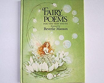 Fairy Poems for the Very Young - Illustrated by Beverlie Manson - Children's Book - Elves, Fairies, Poetry