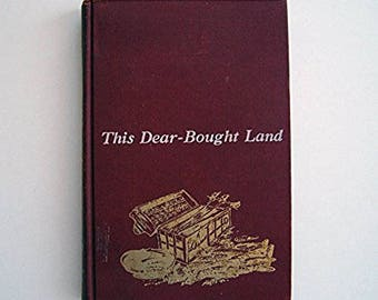 This Dear-Bought Land by Jean Latham - Children's Historical Fiction Book - The Jamestown Settlement - 1600s British Explorations in America