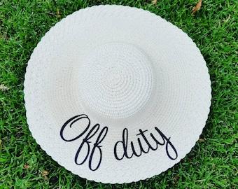 Off duty hat  25147689dea