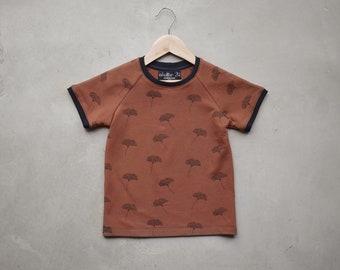 Raglan-sleeved boy T-shirt