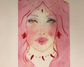 Queen of the Ocean - Ponyo's mom - art print