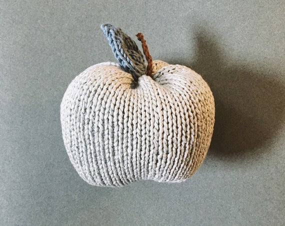 Toy Apple-apple toy - Kids Toy - baby toy - Apple - dinette child - workshop me knitting