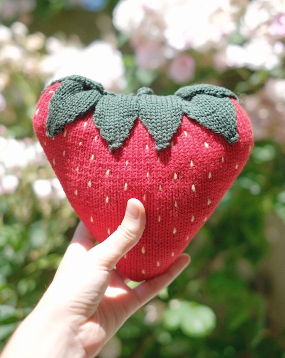 Giant strawberry doudou