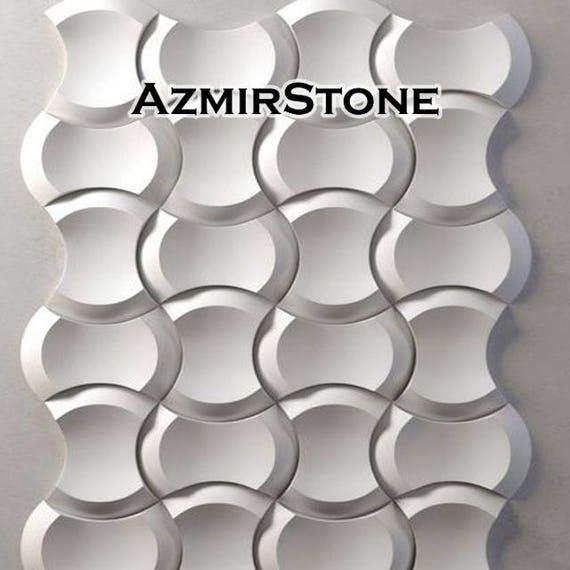 Set 9 en Plastique Moules Pour Béton Plâtre Mur Carrelage formulaire 3D panneaux decor