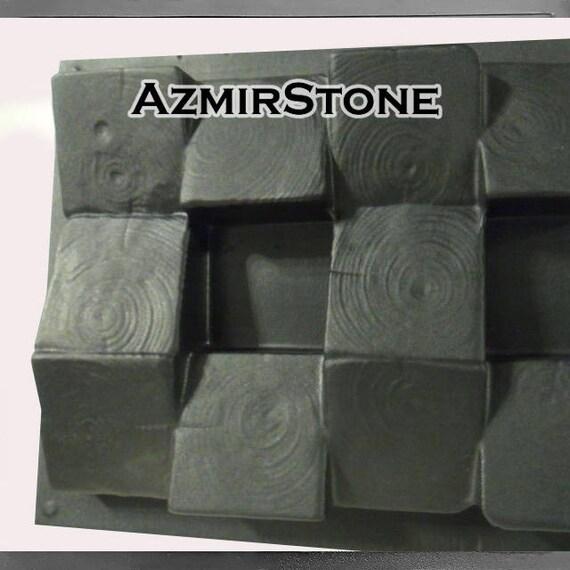 Bloc 3D, moules en béton, panneau de mur, moule en plastique, moule en  béton, moule de ciment, moule de DIY, moulages de Gypsum, mur de Gypsum, ...