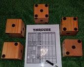 Yardzee Game Gift