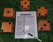 Yardzee Game and Scorecard Christmas Gift