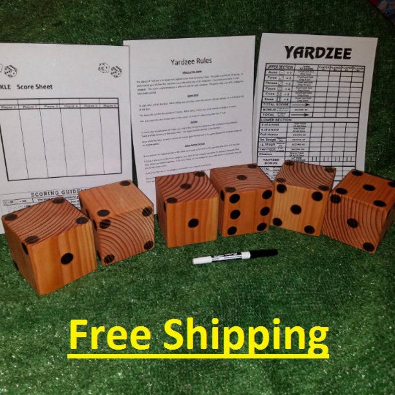 Yardzee//Farkle Dice Game