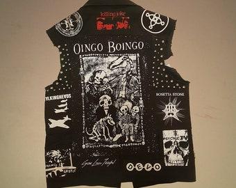 Oingo boingo backpatch new wave post punk Danny Elfman back patch