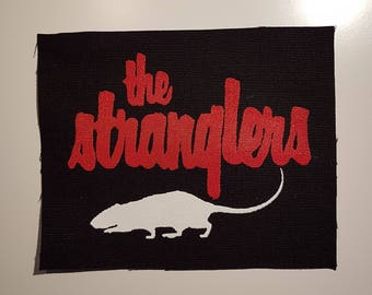 The Stranglers rat Rattus Norvegicus patch post punk new wave