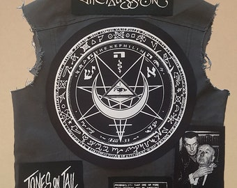 Fields of the nephilim backpatch #2 back patch goth gothrock