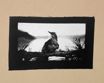 Twin peaks patch bird David Lynch