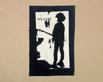 The Cure patch goth post punk rock Robert Smith
