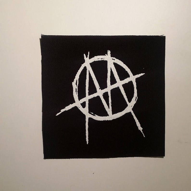 Ministry patch goth synth industrial metal