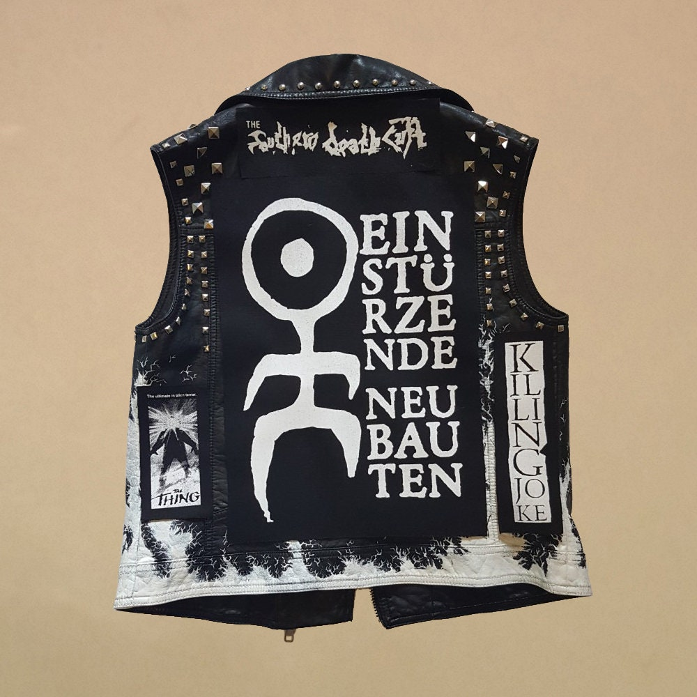 Einst\u00fcrzende neubauten patch industry synth experimental goth post punk