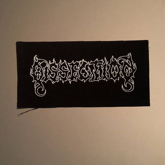 Dissection patch black metal