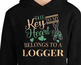 62cbf1cf Logging Timber Unisex Hoodie For Wives And Children Of Loggers