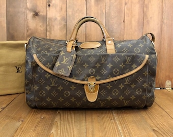 c1b8ba456f85 Authentic LOUIS VUITTON Monogram Canvas Duffle Bag by Louis Vuitton the  French Company in USA in 70 s Rare