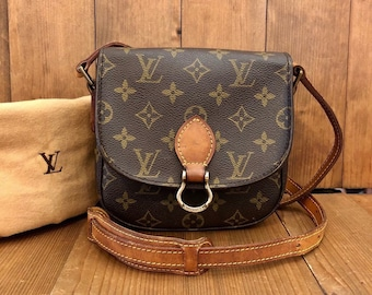 acd2d6d9fc6d Authentic LOUIS VUITTON Monogram Saint Cloud PM Crossbody Bag Small  (Pockets Re-Lined)