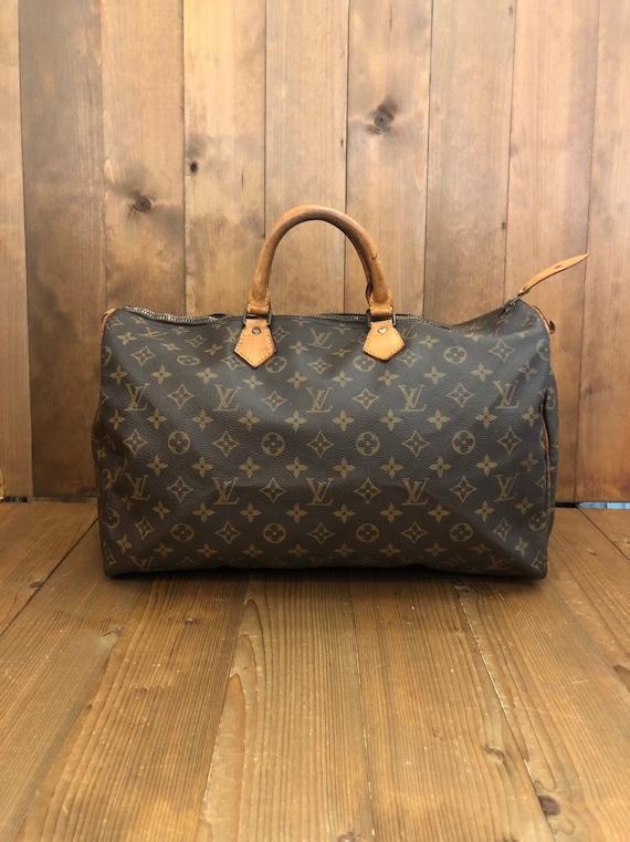 2f7fbef495e8 Authentic LOUIS VUITTON Monogram Speedy 40 Handbag