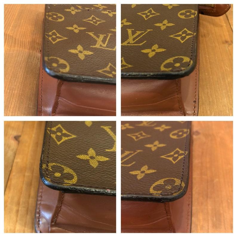 7292b82e59a61 Authentic LOUIS VUITTON Monogram Pochette Homme Clutch Bag