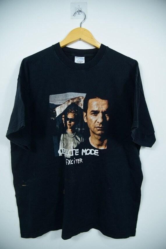 Vintage Depeche Mode Exciter Tour 2001 T-Shirts