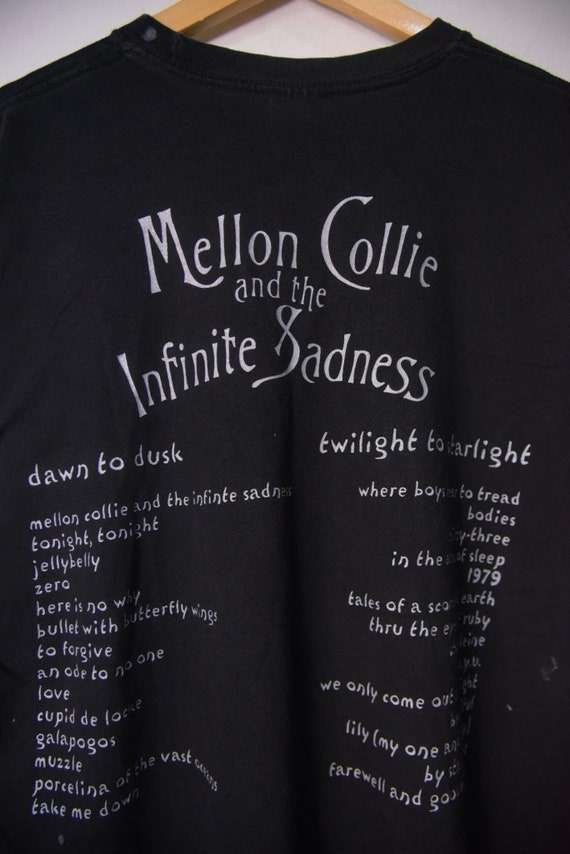 Vintage 90s Smashing Pumpkins Mellon Collie And T… - image 4