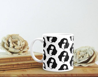 Oscar Wilde, Bookish Gift, Literary Coffee Mug, Gift for Writer, Literary Cup, College Student Gift, Bookworm Gift for Him, Bookworm Gifts