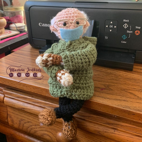Bernie on a Journey, Bernie Sanders Meme Doll