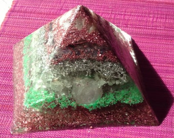 Relaxation and Sleep Crystals Orgone Pyramid (3 Sizes Available)