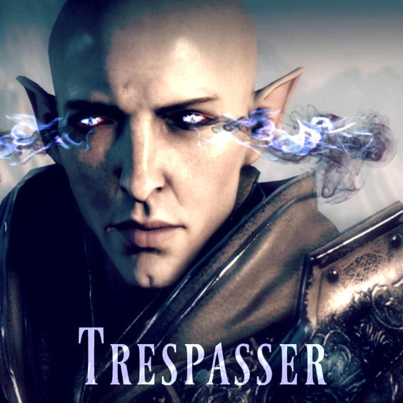 Trespasser / Dragon Age Solas inspired perfume (Smoky vanilla musk, Spiced  amber, Tonka bean, Dark chocolate, Black jasmine, Leather, Smoke)