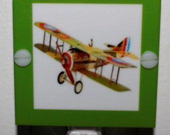 Toy Plane From Air Show Night Light Hand Made With LED and Free Shipping