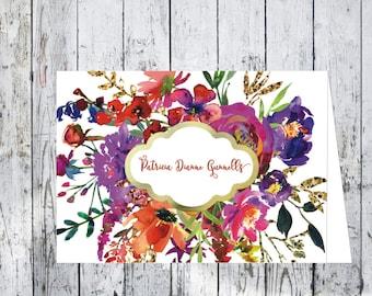 Francua Floral Note Card