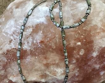 Paper Jewelry, Beaded Jewelry, Gray Jewelry, Handmade Jewelry, Beaded Sets, Casual Jewelry, Jewelry Sale, Everyday Jewelry