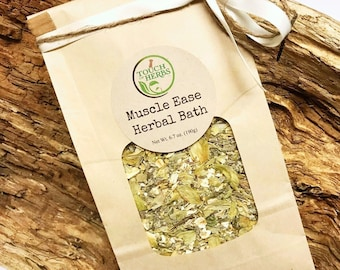 Muscle Ease Herbal Bath Blend