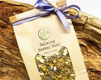 Calming Herbal Bath Blend