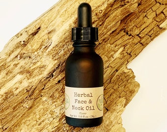 """Herbal Face Oil """"Clear"""""""
