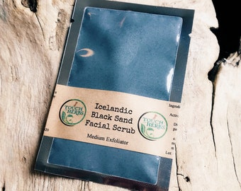 Icelandic Black Sand Facial Scrub