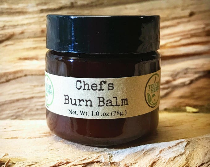 Chefs Burn Balm - Organic Balm for Kitchen Burns and Sunburns